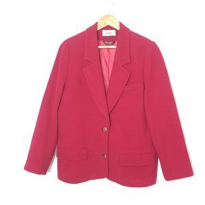 Tribal Sportswear | Blazer Red Wool Cashmere Blend